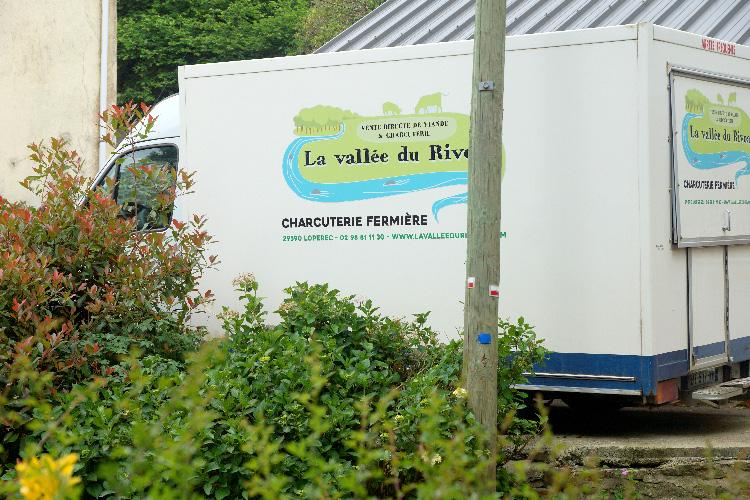 La vallée du Rivoal, charcuterie fermière