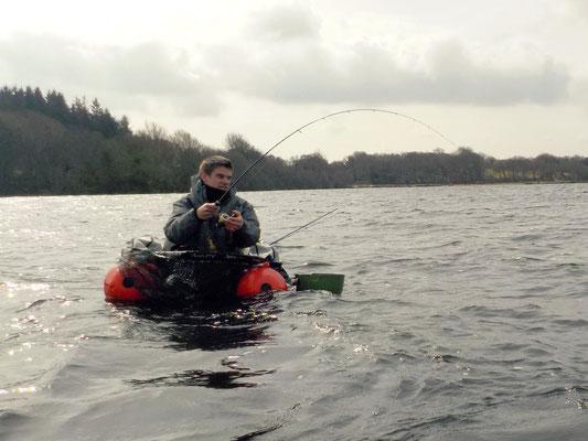 Pêche en lac au Drennec